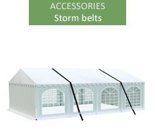 Storm belts - 2 pieces