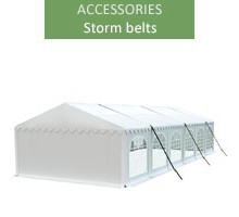 Storm belts - 3 pieces