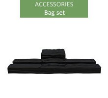 A set of bags for PE tents up to 32m²
