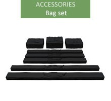 A set of bags for 4m professional tents