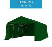 Namiot garażowy 3.3x6.2m, PE, zielony, economy