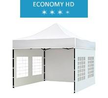 Express tent 3x3 m, white, economy HD