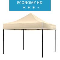 Namiot ekspresowy 3x3m, beżowy, dach, economy HD