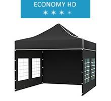 Namiot ekspresowy 3x3m, czarny, economy HD