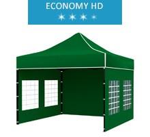 Express tent 3x3 m, green, economy HD