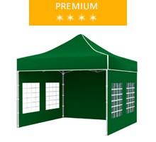 Namiot ekspresowy 3x3m, zielony, premium
