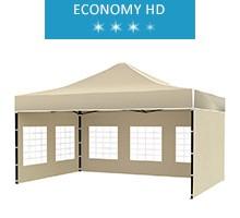 Namiot ekspresowy 3x4.5m, beżowy, economy HD