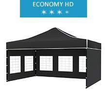 Namiot ekspresowy 3x4.5m, czarny, economy HD