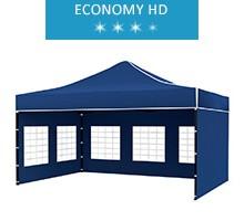 Namiot ekspresowy 3x4.5m, niebieski, economy HD