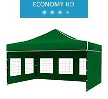 Express tent 3x4.5 m, green, economy HD