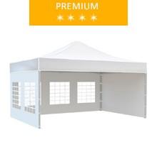 Namiot ekspresowy 3x4.5m, biały, premium