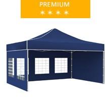 Namiot ekspresowy 3x4.5m, niebieski, premium
