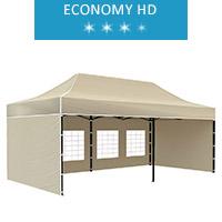 Namiot ekspresowy 3x6m, beżowy, economy HD