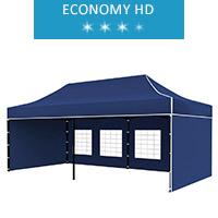 Namiot ekspresowy 3x6m, niebieski, economy HD