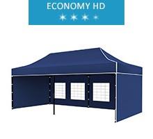 Express tent 3x6 m, blue, economy HD
