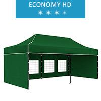 Namiot ekspresowy 3x6m, zielony, economy HD
