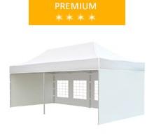 Express tent 3x6 m, white, premium