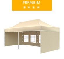 Express tent 3x6 m, beige, premium