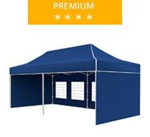 Namiot ekspresowy 3x6m, niebieski, premium