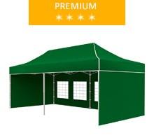 Namiot ekspresowy 3x6m, zielony, premium