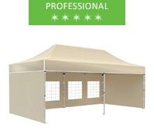Express tent 3x6 m, beige, professional
