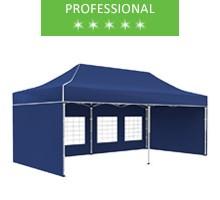 Namiot ekspresowy 3x6m, niebieski, professional
