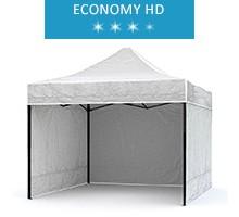 Namiot ekspresowy 2.5x2.5m + 3 ścianki, biały, economy HD