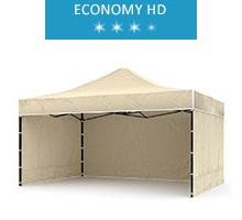 Express tent 3x4.5m + 3 walls, beige, economy HD