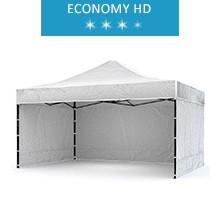 Express tent 3x4.5m + 3 walls, white, economy HD