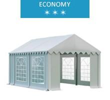 Namiot imprezowy 3x4.5m, PCV, economy