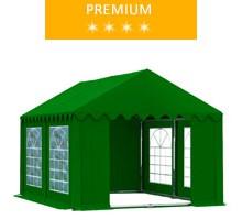Namiot imprezowy 3x4m, PCV zielony, premium