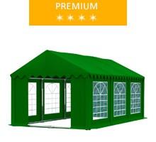 Namiot imprezowy 3x6m, PCV zielony, premium