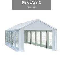 Namiot imprezowy 4x10m, biały, PE classic