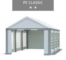 Namiot imprezowy 3x6m, biało-szary, PE classic