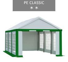 Namiot imprezowy 3x6m, biało-zielony, PE classic