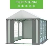 Namiot imprezowy 4x6m, PCV biało-szary, professional