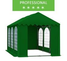 Namiot imprezowy 4x6m, PCV zielony, professional