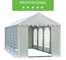 Namiot imprezowy 4x8m, PCV biały, professional