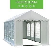 Party tent 4x8m, white PVC, professional