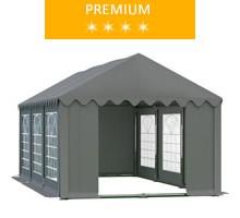 Namiot imprezowy 4x6m, PCV szary, premium