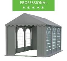 Namiot imprezowy 4x6m, PCV szary, professional