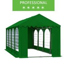 Namiot imprezowy 4x8m, PCV zielony, professional