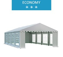 Namiot imprezowy 5x8.5m, PCV, economy