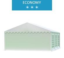 Namiot imprezowy 5x6m, PCV biały, economy