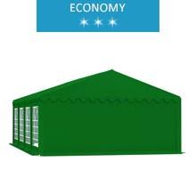 Namiot imprezowy 5x8m, PCV zielony, economy