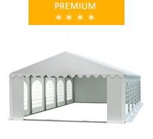 Namiot imprezowy 5x10m, PCV biały, premium