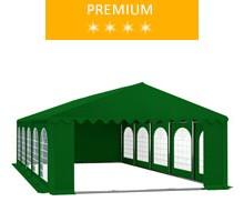 Namiot imprezowy 5x10m, PCV zielony, premium