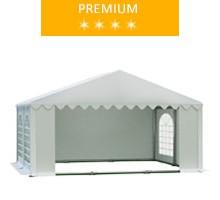 Namiot imprezowy 5x4m, PCV biały, premium