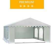 Namiot imprezowy 5x6m, PCV biały, premium