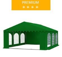 Namiot imprezowy 5x6m, PCV zielony, premium